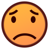 Worried Face on emojidex 1.0.24