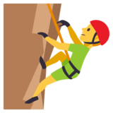 Man Climbing on JoyPixels 3.1