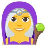 Woman Mage on JoyPixels 3.1