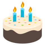 Birthday Cake on EmojiOne 4.0