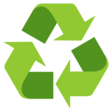 Recycling Symbol on JoyPixels 4.0
