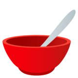 Bowl with Spoon on JoyPixels 4.0