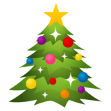 Christmas Tree on EmojiOne 4.0