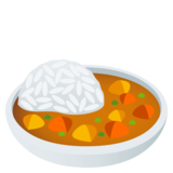 Curry Rice on JoyPixels 4.0