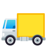 Delivery Truck on JoyPixels 4.0