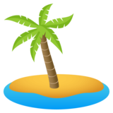 Desert Island on JoyPixels 4.0