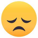 Disappointed Face on EmojiOne 4.0