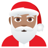 Santa Claus: Medium Skin Tone on JoyPixels 4.0