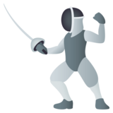 Person Fencing on JoyPixels 4.0