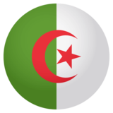 Flag: Algeria on JoyPixels 4.0