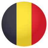 Flag: Belgium on JoyPixels 4.0