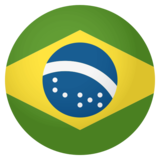 Flag: Brazil on JoyPixels 4.0