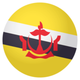 Flag: Brunei on JoyPixels 4.0