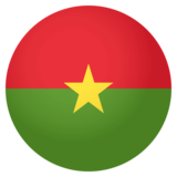 Flag: Burkina Faso on EmojiOne 4.0