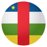 Flag: Central African Republic on JoyPixels 4.0