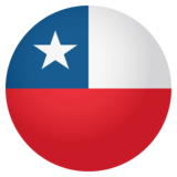 Flag: Chile on JoyPixels 4.0
