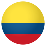 Flag: Colombia on JoyPixels 4.0