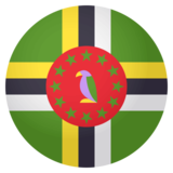 Flag: Dominica on JoyPixels 4.0