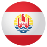 Flag: French Polynesia on JoyPixels 4.0