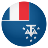 Flag: French Southern Territories on JoyPixels 4.0