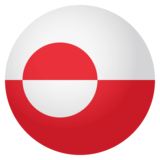 Flag: Greenland on JoyPixels 4.0