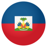 Flag: Haiti on JoyPixels 4.0