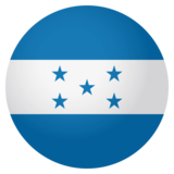Flag: Honduras on JoyPixels 4.0