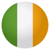 Flag: Ireland on JoyPixels 4.0