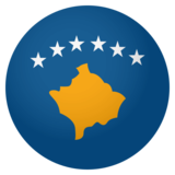 Flag: Kosovo on JoyPixels 4.0