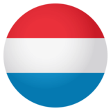 Flag: Luxembourg on JoyPixels 4.0
