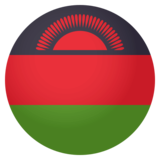 Flag: Malawi on JoyPixels 4.0