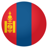 Flag: Mongolia on JoyPixels 4.0