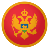 Flag: Montenegro on JoyPixels 4.0