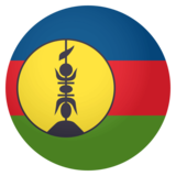 Flag: New Caledonia on JoyPixels 4.0
