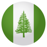 Flag: Norfolk Island on JoyPixels 4.0
