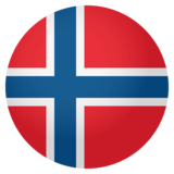 Flag: Norway on JoyPixels 4.0