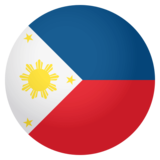 Flag: Philippines on JoyPixels 4.0