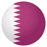 Flag: Qatar on JoyPixels 4.0