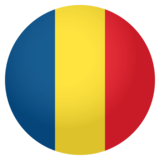 Flag: Romania on JoyPixels 4.0