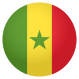 Flag: Senegal on JoyPixels 4.0