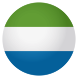Flag: Sierra Leone on JoyPixels 4.0