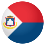 Flag: Sint Maarten on JoyPixels 4.0