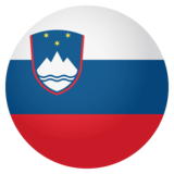 Flag: Slovenia on JoyPixels 4.0