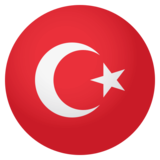 Flag: Turkey on EmojiOne 4.0