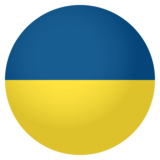 Flag: Ukraine on EmojiOne 4.0