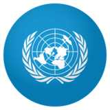 Flag: United Nations on JoyPixels 4.0