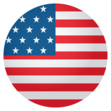Flag: United States on JoyPixels 4.0