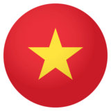Flag: Vietnam on JoyPixels 4.0