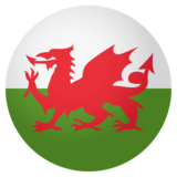 Flag: Wales on JoyPixels 4.0