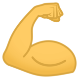 Flexed Biceps on JoyPixels 4.0